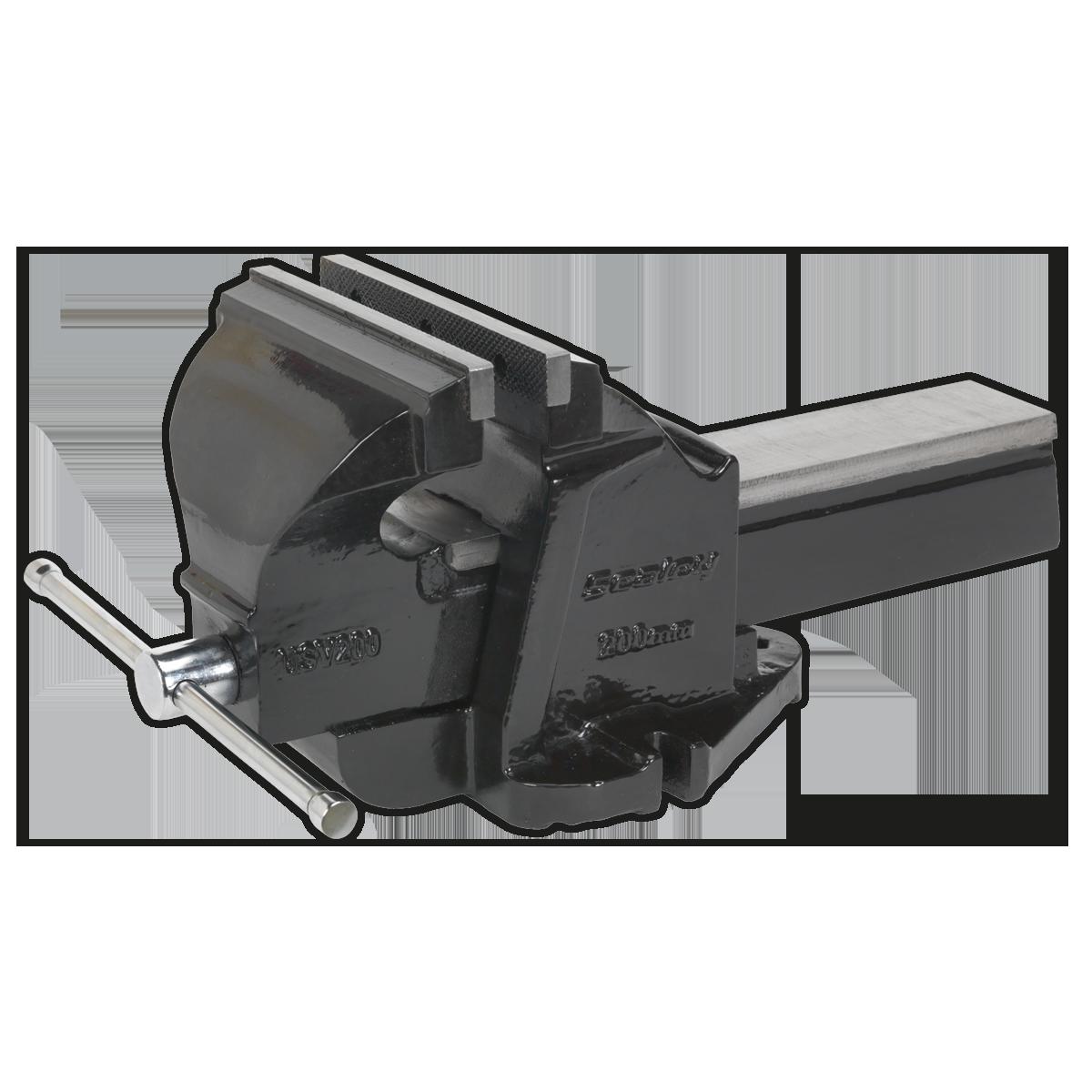 Sealey USV200 Professional Mechanic/'s Vice 200mm SG Iron