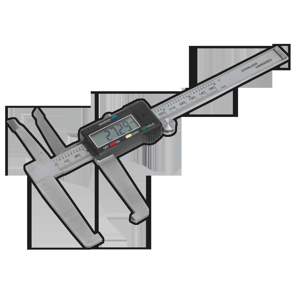 """Sealey VS0566 Numérique Disque De Frein étrier 150mm//6/"""""""