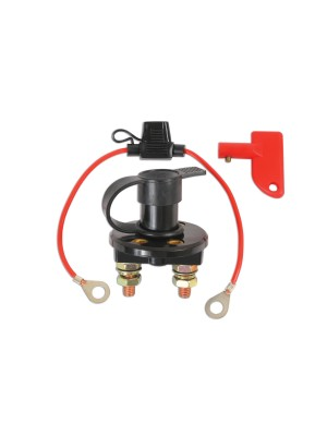 Battery Disconnect Switch c/w In Line Fuse Holder - Pack 1