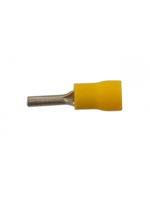 Yellow Pin Terminal 14mm - Pack 100
