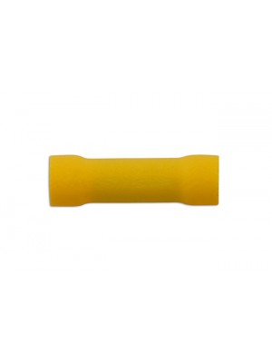 Yellow Butt Connector 5.0mm - Pack 100
