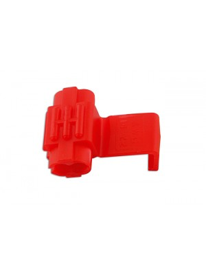 Red Splice Connector 0.5-1.5mm - Pack 100