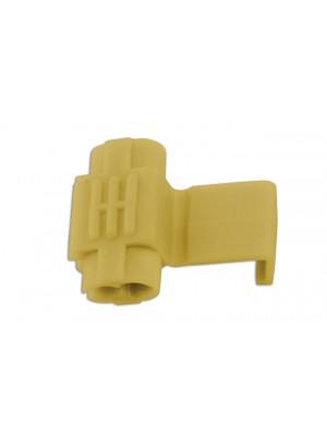Yellow Splice Connector 4.0-6.0mm - Pack 100