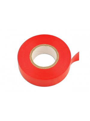 Red PVC Insulation Tape 19mm x 20m - Pack 10