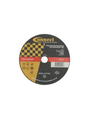 Connect 75mm x 1mm Cut-off Discs - Pack 10