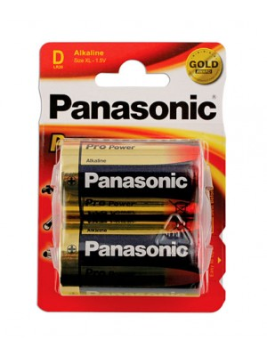 Panasonic Pro Power D Cell Battery 12 x 2 Cards