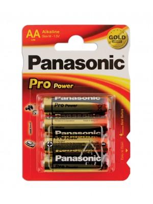 Panasonic Pro Power AA Battery 1 Card of 4