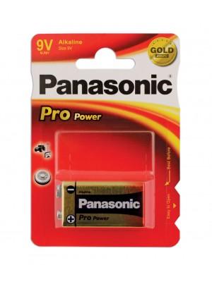 Panasonic Pro Power PP3 9v Battery 1 Card of 1
