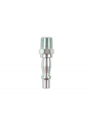 """Fastflow Standard Air Line Adaptor Male 1/4"""" BSPT - Pack 5"""