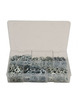 Assorted MM Spring Washers Box - 800 Pieces