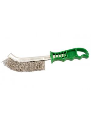 Abracs Plastic Handle Stainless Steel Brush - Pack 4