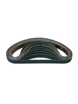Abracs File Belts 10mm x 330mm 80g Zirconium - Pack 10