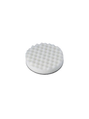 Cutting / Compounding Corrugated Velcro White Pad Pack 1
