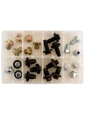 Sump Plug UK Assortment 24 plugs plus washers Suits