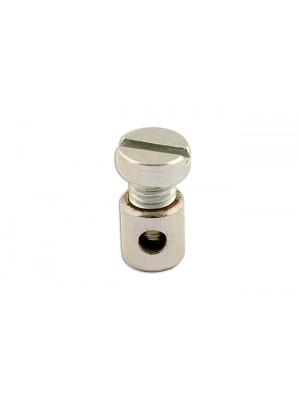 Solderless Nipples Top Screw 8.0mm - Pack 20