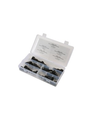 Assorted Fuel Line Straight Quick Connector - 15 Pieces