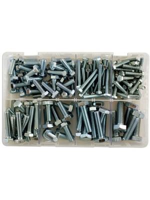 Assorted Metric Setscrews M6  to  M12 Box - 150 Pieces