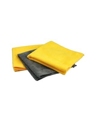 Microfibre Cloths Set - 3 Pieces