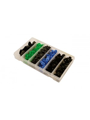 Suits Fits Opel Assorted Trim Clips - 300 Pieces