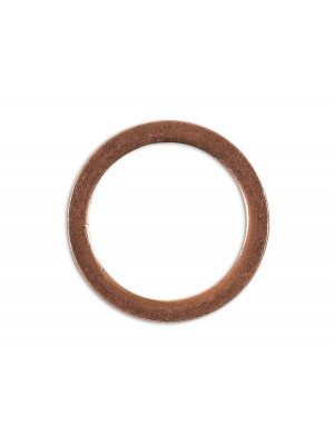 Sump Plug Washer Copper 12mm x 16mm x 1.5mm - Pack 10