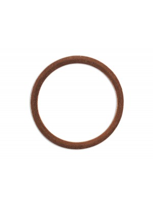 Sump Plug Copper Washer 18mm x 22mm x 1.5mm - Pack 10