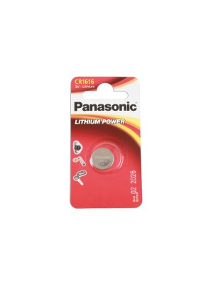 Panasonic Coin Cell Battery CR1616 - Pack 1