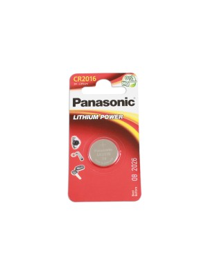 Panasonic Coin Cell Battery CR2016 - Pack 1