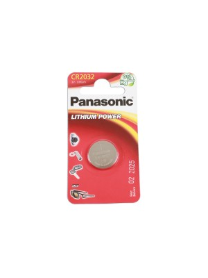 Panasonic Coin Cell Battery CR2032 - Pack 1