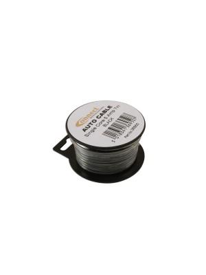 Suits Mini Reel Automotive Cable 5 Amp Black 7m