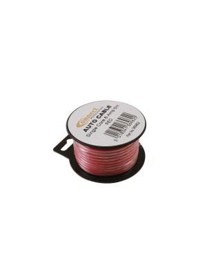 Suits Mini Reel Automotive Cable 8 Amp Red 6m