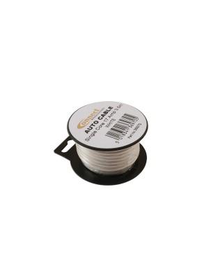 Suits Mini Reel Automotive Cable 17 Amp White 3.5m