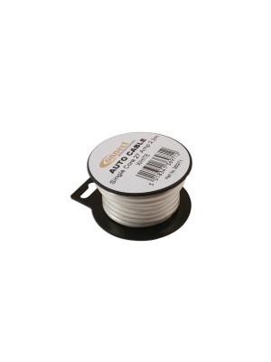 Suits Mini Reel Automotive Cable 27 Amp White 2.2m