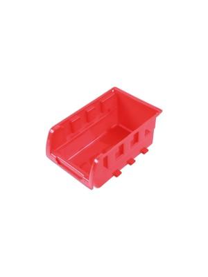 Red Storage Bins 160mm x 103mm x 72mm - Pack 20