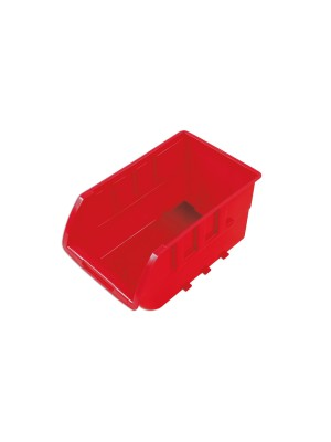 Red Storage Bins 237mm x 144mm x 125mm - Pack 20