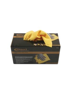 Microfibre Yellow Cloths in Dispenser box