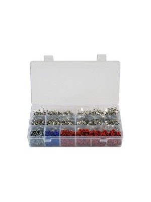 Assorted Non Insulated Fits VW Terminals/Seals - 1200 Pieces