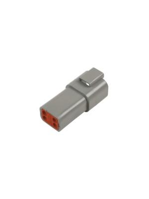 Deutsch 4 Pin Receptacle Connector Kit - 6 Pieces