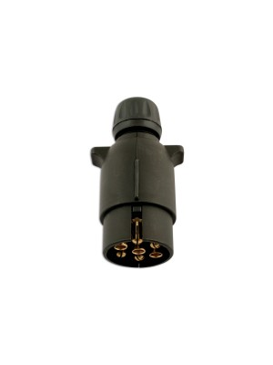 7 Pin Nylon Plug 12 Volt 12N - Pack 5