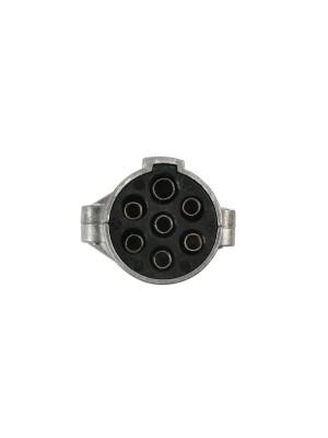 7 Pin 24 Volt Metal Plug - Pack 1