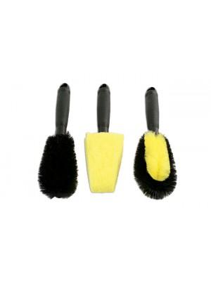 Wheel Brush Set 3pc