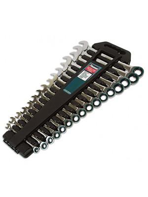 Ratchet Ring Spanner Set 16pc
