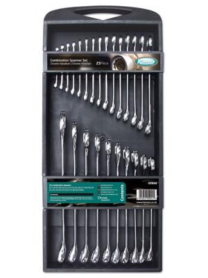 Combination Spanner Set 25pc
