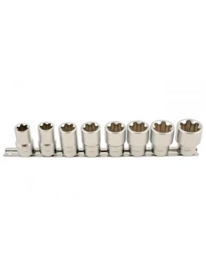 "Torx Plus® Socket Set 1/2""D 8pc"