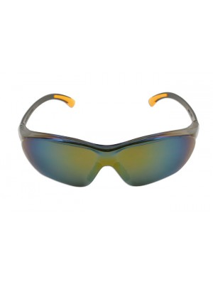 Safety Glasses - Black/Mirrored
