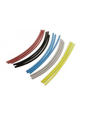 Assorted Coloured Heat Shrink Tubing 38.0mm - Pack 8