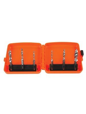 Drill, Tap & Deburr Bit Set 6pc