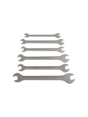 Ultra Thin Open Ended Spanner Set 6pc