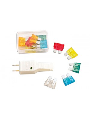 Auto Fuse and Tester Kit - 13pc