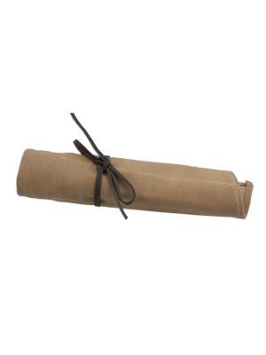 Waxed Canvas Tool Roll - 14 Pockets