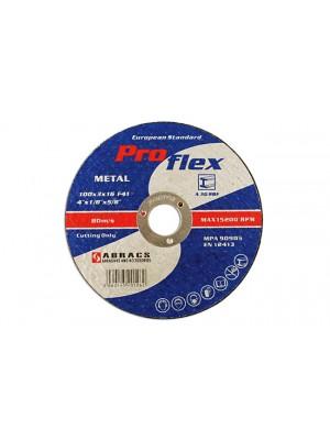 Abracs 230mm x 3.0mm Flat Cutting Discs - Pack 5